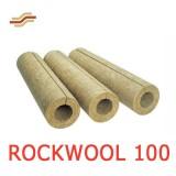 Цилиндры навивные ROCKWOOL 100 простые и кашированные фольгой