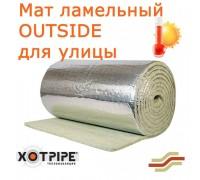 Мат ламельный XOTPIPE OUTSIDE с покрытием для Улицы