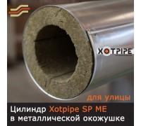 Цилиндры, скорлупы, полуцилиндры теплоизоляционные XOTPIPE SP ME в металле
