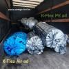 Рулоны К-Флекс PE и K-Flex air на воздуховоды системы рекупирационной вентиляции