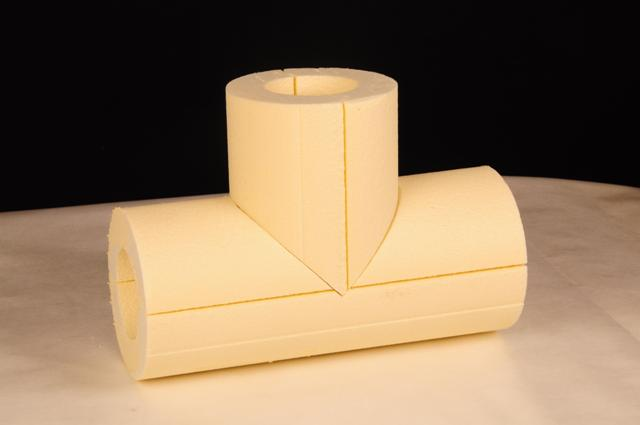 фоампайп тройник (Foampipe скорлыпы) энергоизоляция