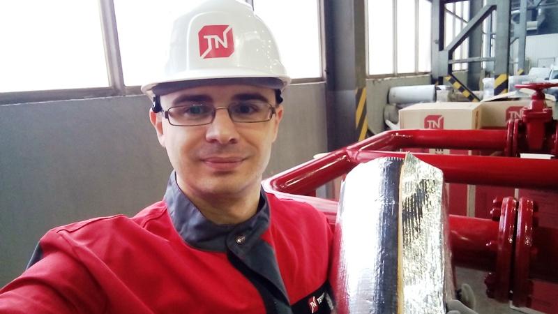 фото на заводе технониколь