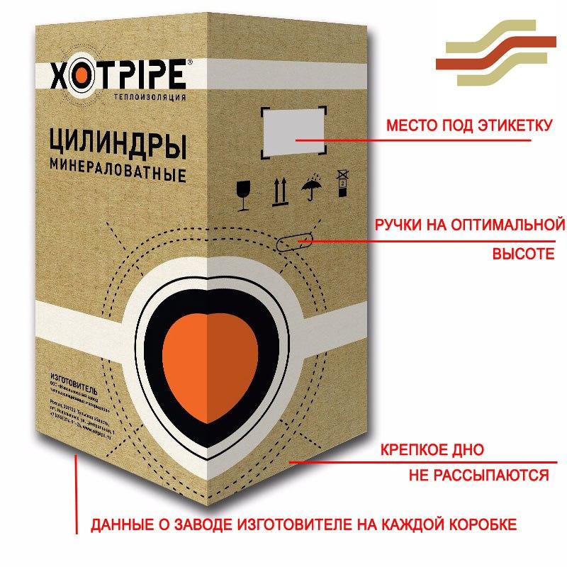 Коробка хотпайп цилиндры фото ЭнергоИзоляция