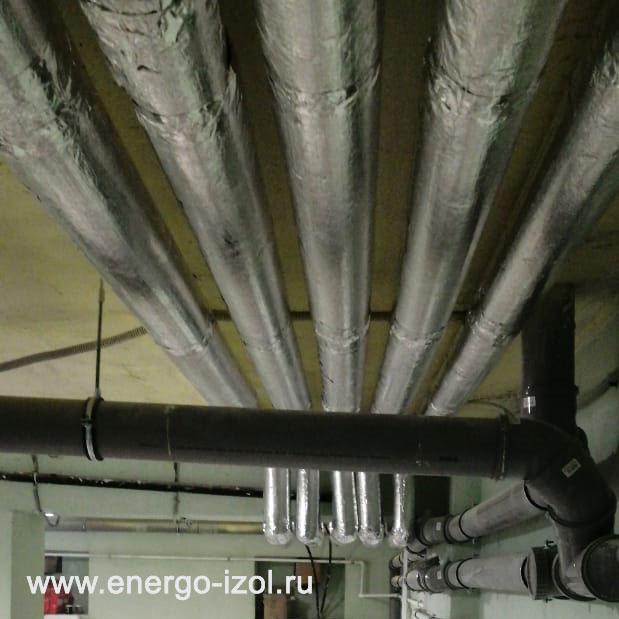 Фото цилиндры хотпайп xotpipe sp alu на изоляцию трубопроводов детского садика