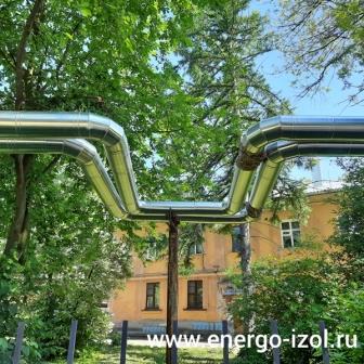 Продолжаются работы по ремонту изоляции тепловых сетей в г.Рязань